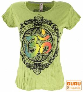Baba T-Shirt - lemongrün / Om