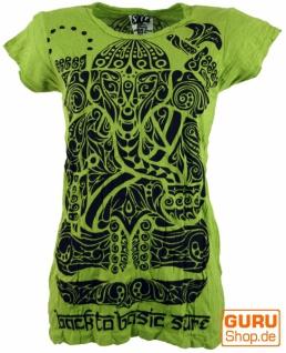 Sure T-Shirt tribal Ganesh - lemon