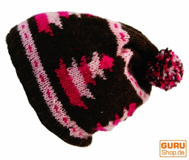 Beanie Mütze 3 - coffee pink