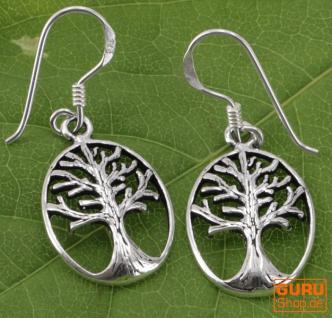 Ethno Silberohrringe `Tree of life` - Model 7