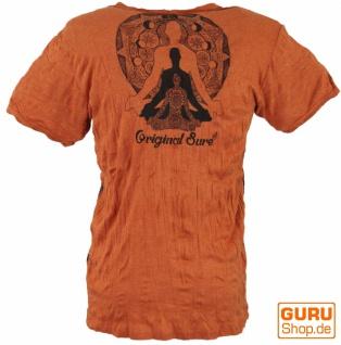 Sure T-Shirt Meditation Buddha - rostorange - Vorschau 2