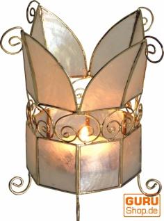 Muschel Teelicht Lampe, Teelichthalter