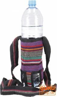 Wasserflaschen Tasche, Flaschenhalter Ethno - Modell 11