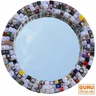 Spiegel aus Recyclingpapier - rund 47 cm