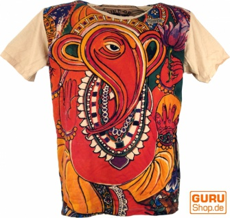 Mirror T-Shirt - Ganesh / orange