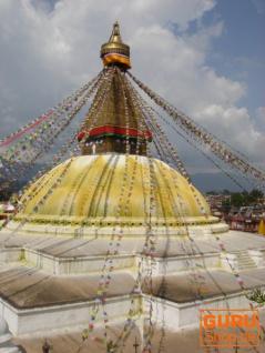 1 Stück Gebetsfahnen (Tibet) mit 25 Wimpeln in verschiedenen Längen - Vorschau 2