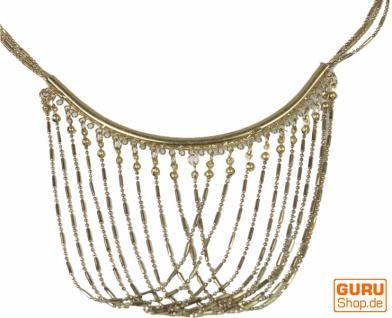Modeschmuck Kette - gold