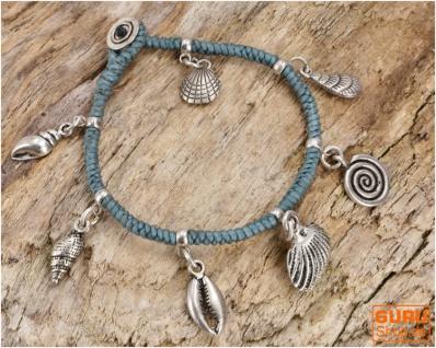 Perlenarmband, Makrameee Armband Chiang Mai - Modell 19