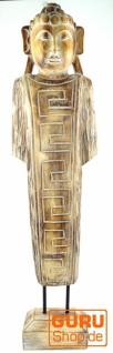 Stehender Buddha, Holzbuddha