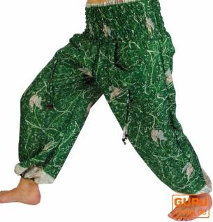 Leichte Haremshose Pluderhose Pumphose Aladinhose
