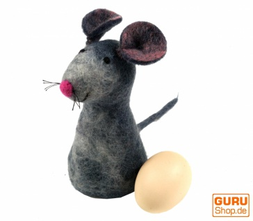 Filz Eierwärmer - Maus