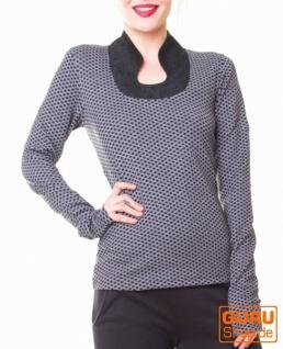 Pullover aus Bio-Baumwolle / Chapati Design - grey