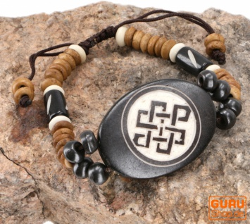 Tibet Armband, buddhistisches Armband, Ethno Tribal Schmuck - Model 3
