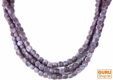 Modeschmuck, Boho Perlenkette - Model 16