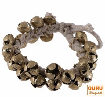 Indische Ghunggoo, Fußglöckchen, Armglöckchen, Tanzschelle, Armband - Vorschau
