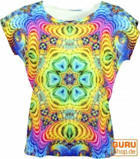 Psytrance T-Shirt, Yoga T-Shirt, Retro T-Shirt - Psycodelic