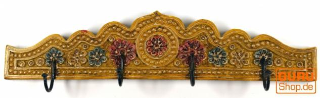 Indische Vintage Hakenleiste, Garderobe - Design 1