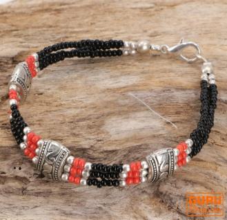Tibetschmuck Perlenarmband, Ethnoarmband - Modell 3