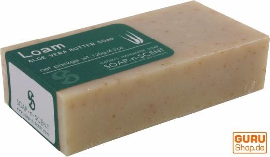 Handgemachte Aloa Vera Butter Seife, 120 g Fair Trade - Loam