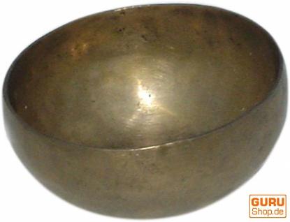 Handgearbeitete Messing Klangschale aus Indien - 11 cm