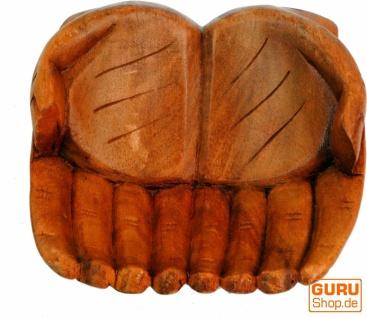 Geschnitzte Hände, Holzschale Hand - Vorschau 2