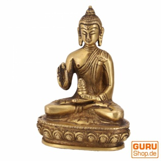 Buddha Statue aus Messing Amoghasiddhi Buddha 10 cm - Modell 7