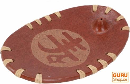 Keramik Räucherstäbchenhalter - Glück
