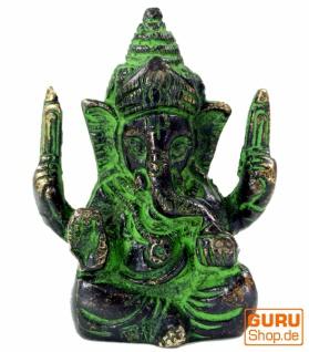 Messingfigur Ganesha Statue - Vorschau 1