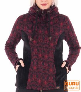 Jacke mit Kapuze aus Bio-Baumwolle / Chapati Design - burg wings