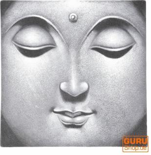 Kleiner Buddha auf Leinwand 40*40 cm - Motiv 15