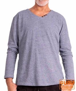 Pullover aus Bio-Baumwolle / Chapati Design - blue jeans