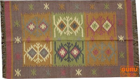 Orientalischer grob gewebter Kelim Teppich 160*90 cm - Muster 4