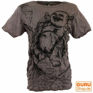 Sure T-Shirt Happy Buddha - taupe