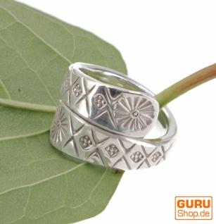 Silberring, Boho Style Ethno Ring - Model 15