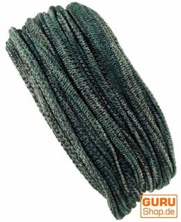 Magic Hairband, Dread Wrap, Schlauchschal, Stirnband, Mütze - Loopschal grün