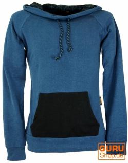 """Hanf Hoody, Hippie Sweatshirt"""" Flower of life"""" - blau"""