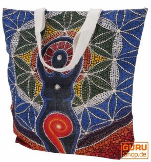 Mirror Shopper Tasche, Einkaufstasche, Strandtasche - Yogi