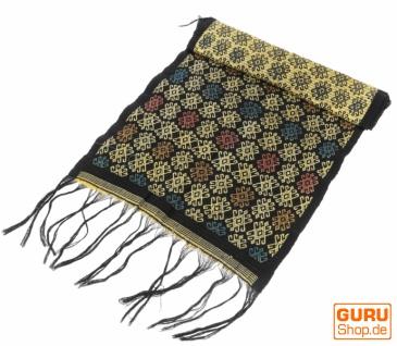 Traditionelles handgewebtes Ikat Tuch, Tischläufer, Tischdecke aus Sumba, 150 x 47cm - Motiv 5