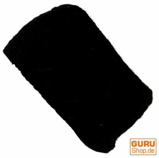 Stirnband aus Wolle - schwarz schwarz schwarz ca0983