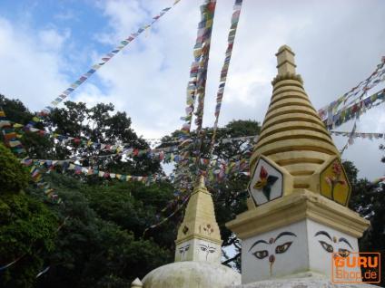 5 Stück Sparpack Gebetsfahnen (Tibet) mit 10 Wimpeln in verschiedenen Längen - Vorschau 3
