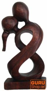 Holzfigur, Statue, Deko Objekt Feng Shui - `Traumpaar`