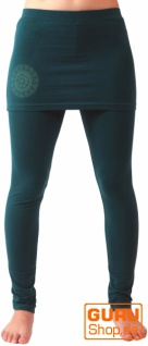 Yoga-Hose Bio-BW Yogi - emerald