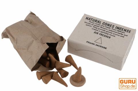Natural cones incense, natürliche Räucherkegel - Franc Incense