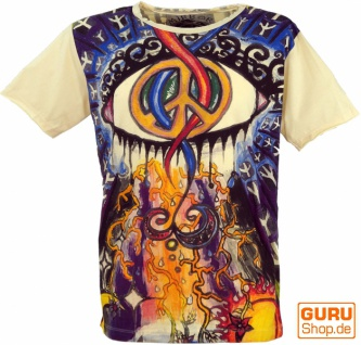 Mirror T-Shirt - Peace / vanille