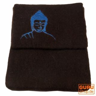 Filz iPad Hülle Buddha braun