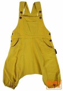 Kinder Latzhose, Pluderhose, Pumphose, Aladinhose für Kinder - mustard