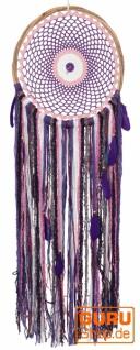 Traumfänger - violett 38 cm