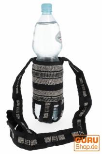 Wasserflaschen Tasche, Flaschenhalter Ethno - Modell 7