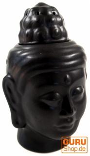 Duftlampe in Buddhaform - Buddha 3 schwarz