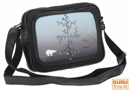 kleine Retro Schultertasche Fototasche - Modell 12